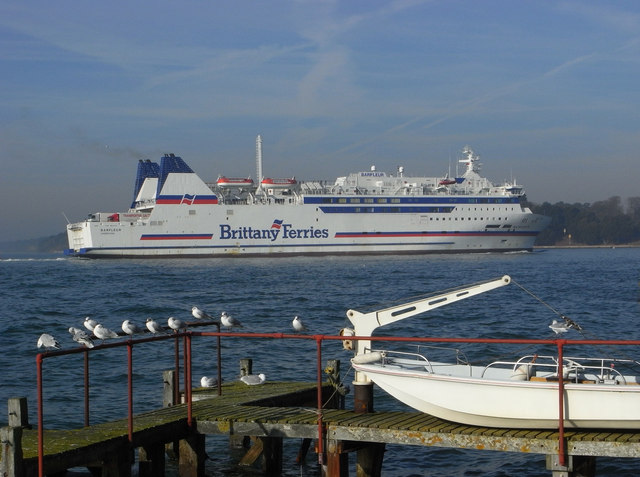 Brittany Ferries Barfleur in Poole Harbour
