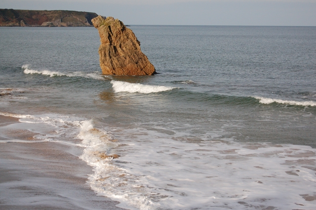 Stack on Cullen Beach