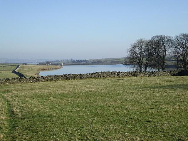 View over Blackton Reservoir