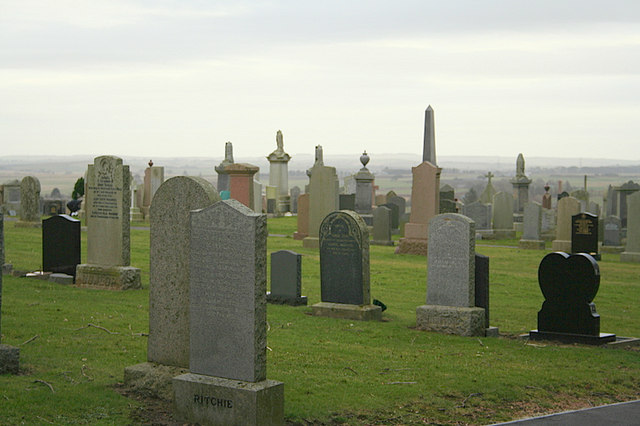 Cemetery beside the Culsh Monument