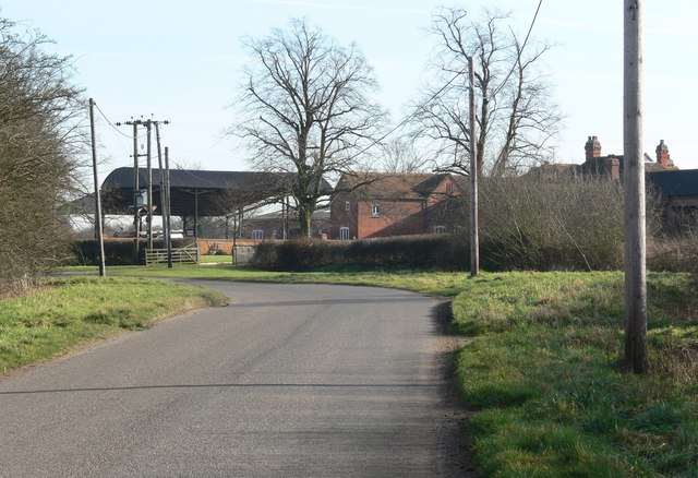 Main Road near Ratcliffe Culey