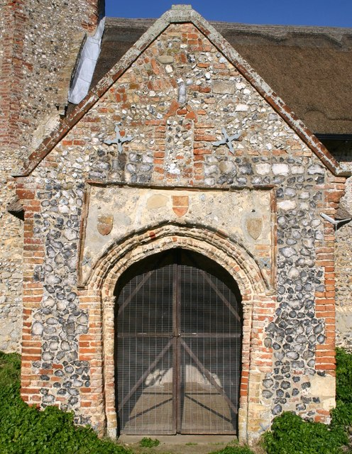 South Porch of St. Gregory's Church