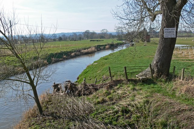 River Sence from Ratcliffe Bridge