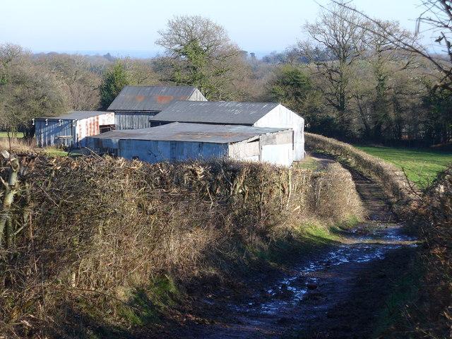 Barns near Tuder's Copse