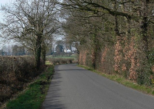 Pinwall Lane near Pinwall, Leicestershire