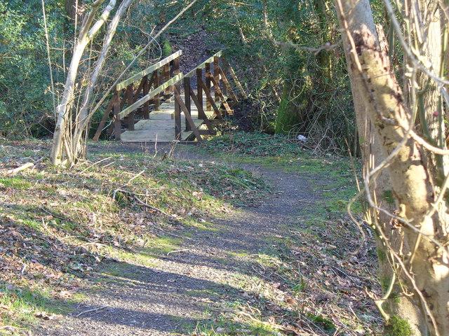 Footbridge near Grayswood