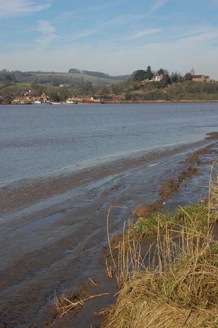 The River Severn near Newnham