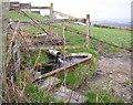 SE0518 : Spring and trough, Steele Lane, Barkisland by Humphrey Bolton