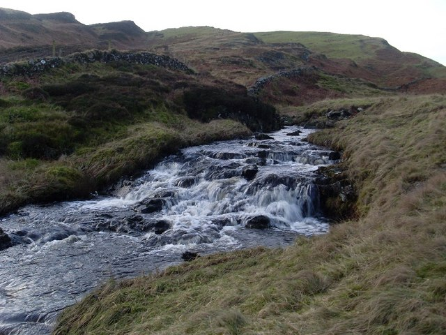Falls on Loch Humphrey Burn