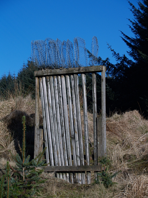 Fire-fighting equipment, Howcleuch Forest