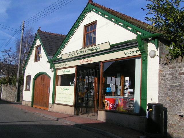 Village shop, Longhope