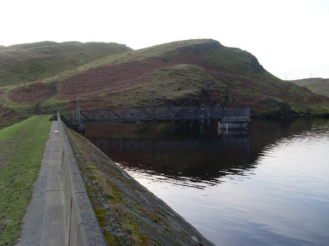 Pier of Greenside Reservoir