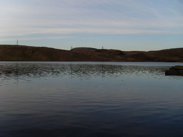 View across Greenside Reservoir