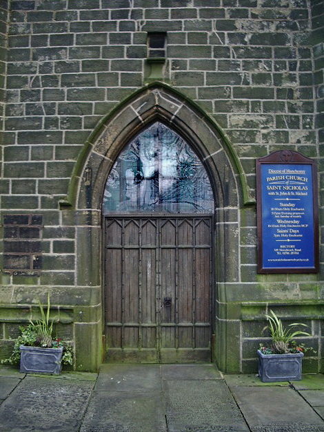 Parish Church of St Nicholas with St John & St Michael, Newchurch, Doorway