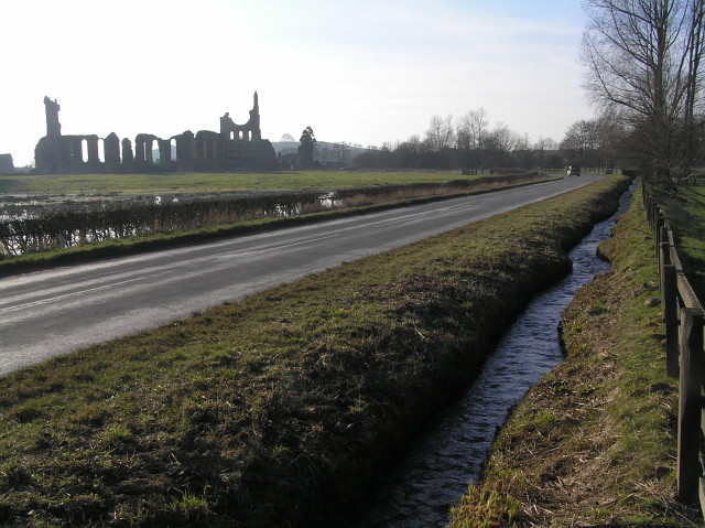 Roadside ditch near Byland Abbey