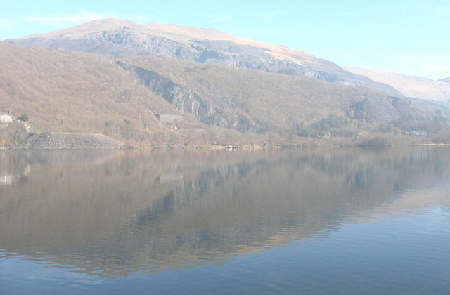 Reflections in Llyn Padarn