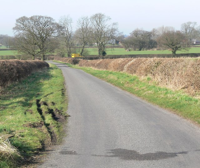 Crow Lane north of Pinwall, Leicestershire