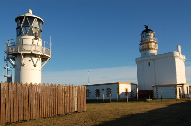 Lighthouses at Kinnaird Head