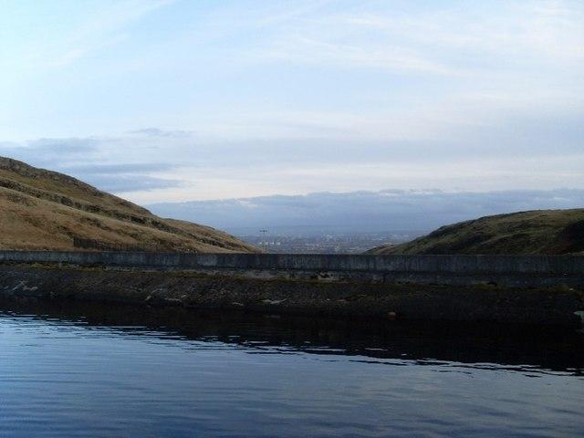 Dam of Greenside Reservoir