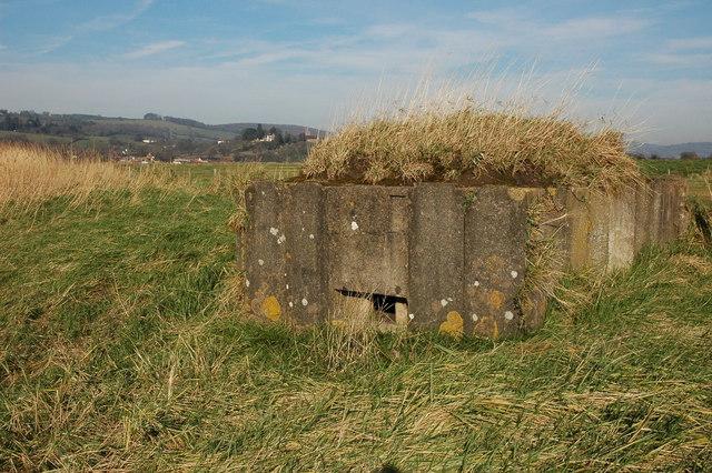 Pill box near Arlingham