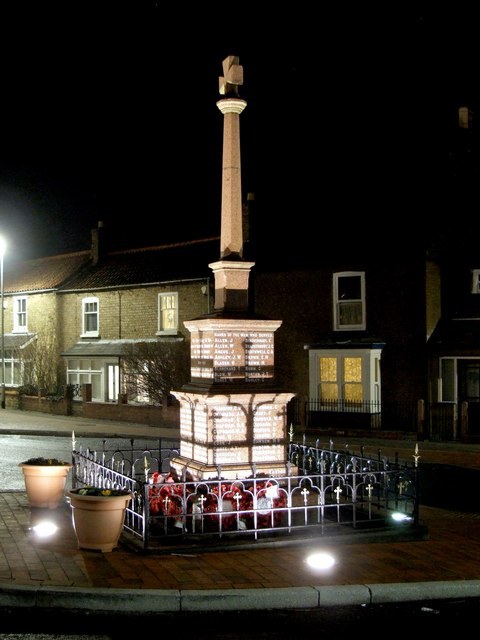 War Memorial, Bardney