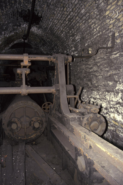 Davey pumping engine, Marine Colliery