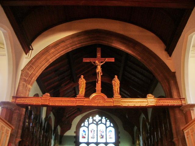 Parish Church of St Nicholas with St John & St Michael, Newchurch, Rood