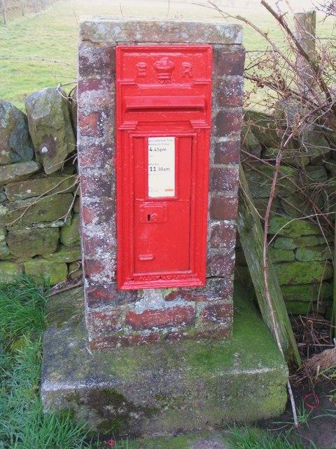 Edward VII postbox near Turf House