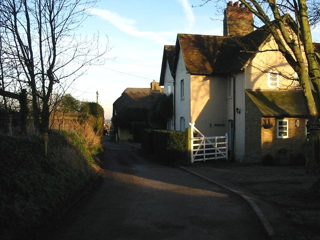 View along Church Street, Woodnesborough