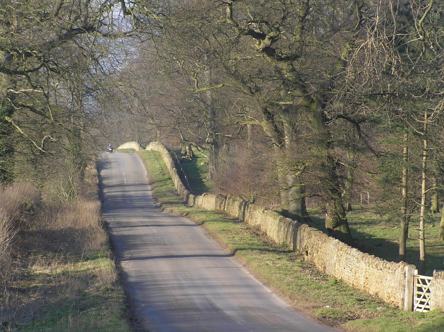 Road south of Coxwold