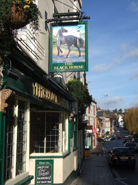 The Black Horse Inn, Exeter