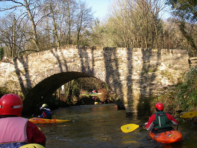 Kayakers on the Exe