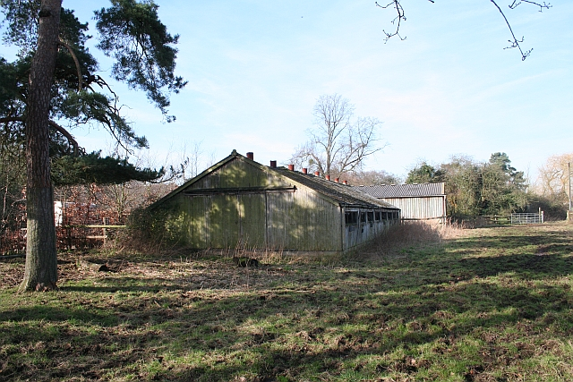 Old Chicken Sheds, Hanley Hall
