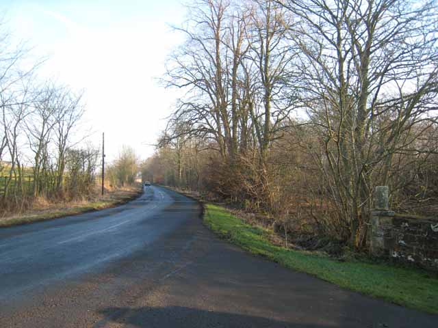 Road from Bolam to Belsay