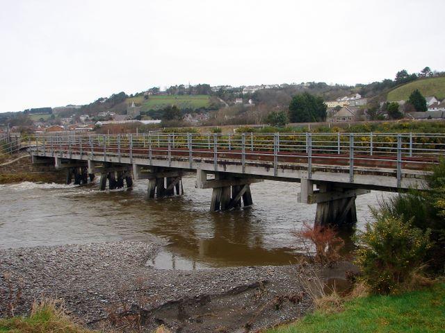 The Rheidol Bridge