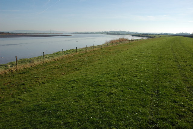 The River Severn from Arlingham Warth