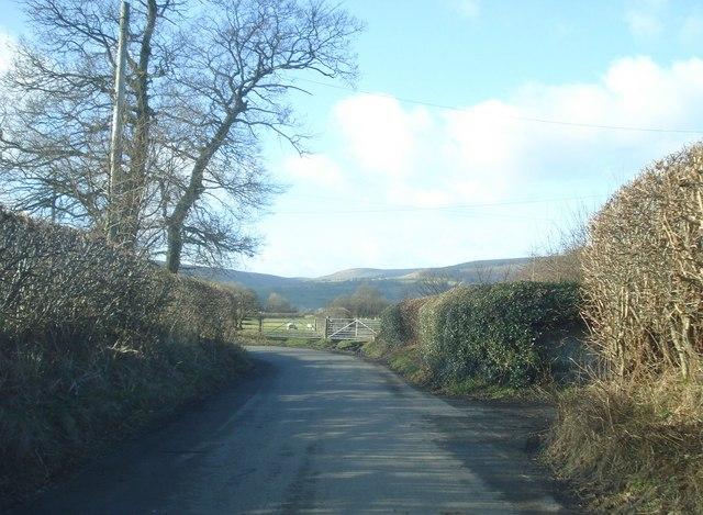 Bend in the Yardro Lane
