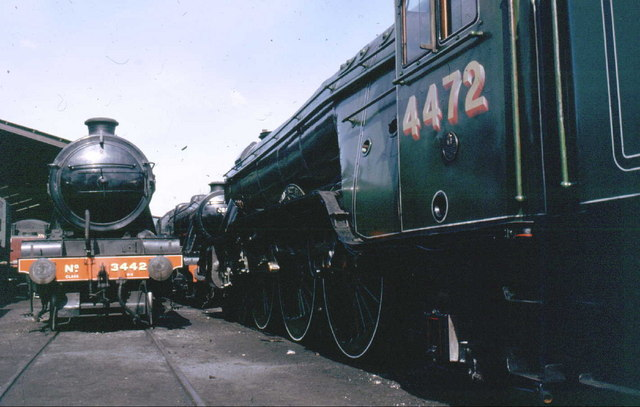 Arguably the most famous locomotive in the world - 4472 The Flying Scotsman