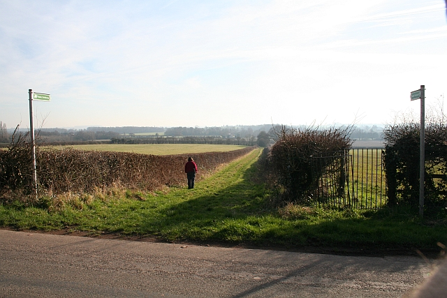 Bridleway and Footpath from the Hook