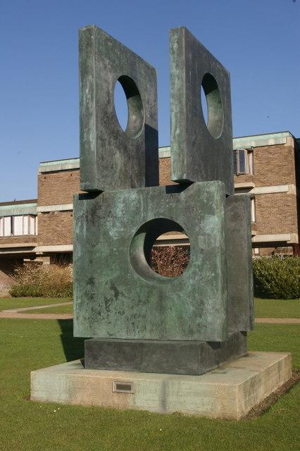 Four-square walk-through, Barbara Hepworth, 1966