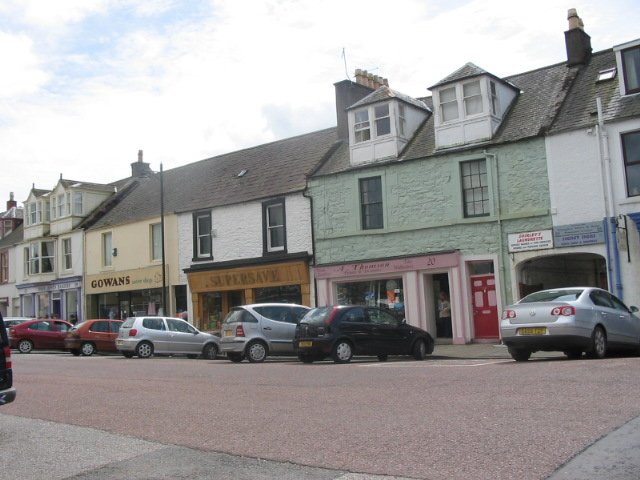Kirkcudbright, St Cuthbert Street