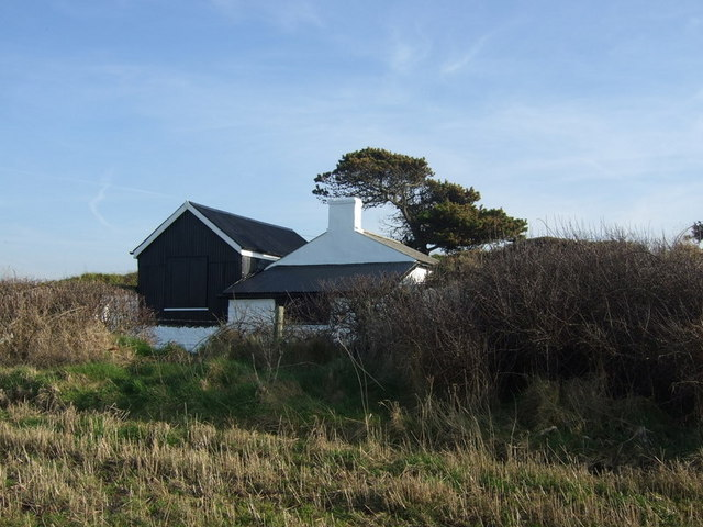 Cable hut,  Abermawr