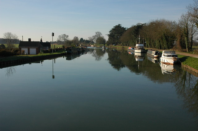 The Gloucester and Sharpness Canal, Frampton-on-Severn