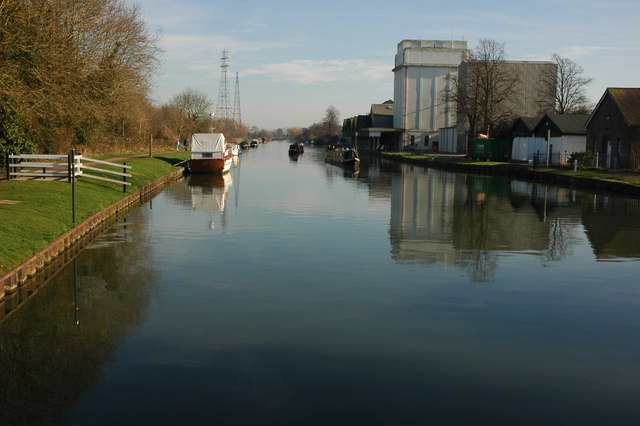 The Gloucester and Sharpness Canal at Frampton-on-Severn
