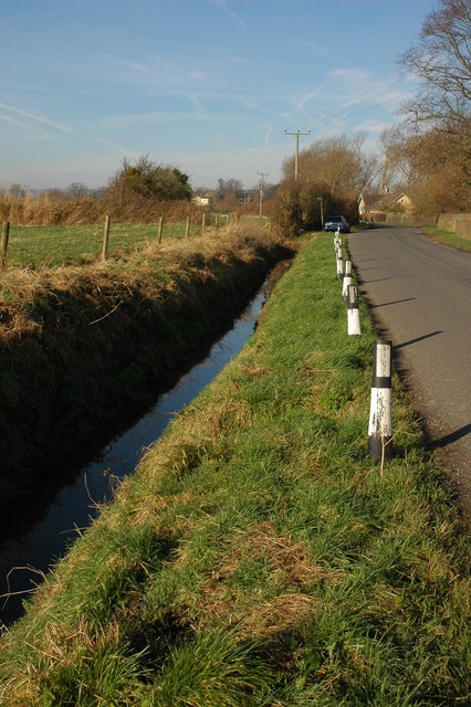 Roadside ditch at Fretherne