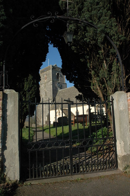 Entrance to Arlingham Church