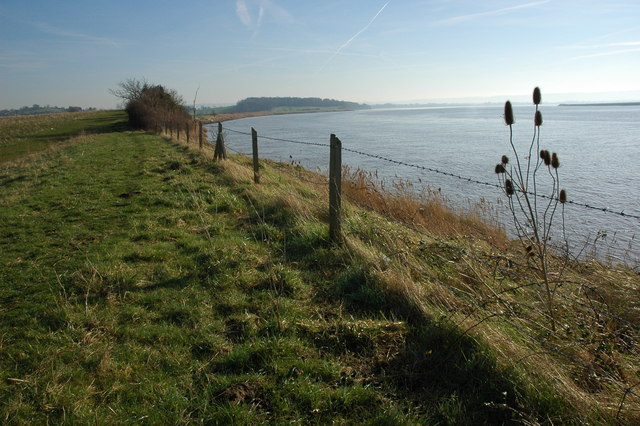 The River Severn near Arlingham