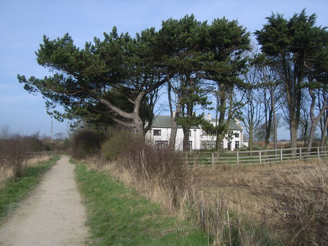 Looking inland to Highcliffe Manor