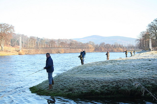 The 2008 salmon season starts at Aberlour