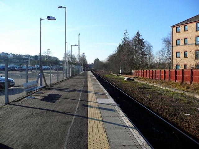 The line to Glasgow